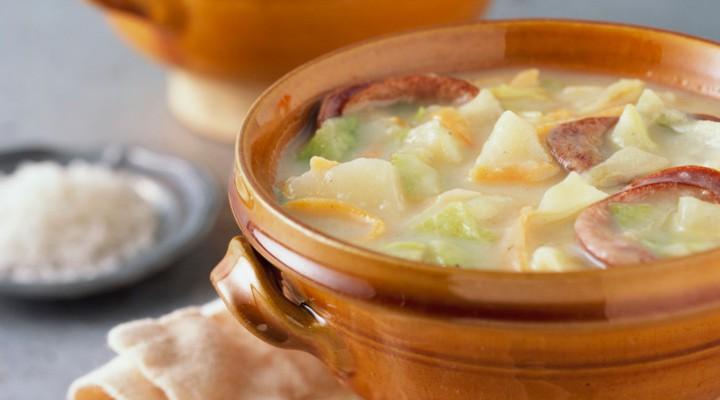Colcannon Potato Chowder