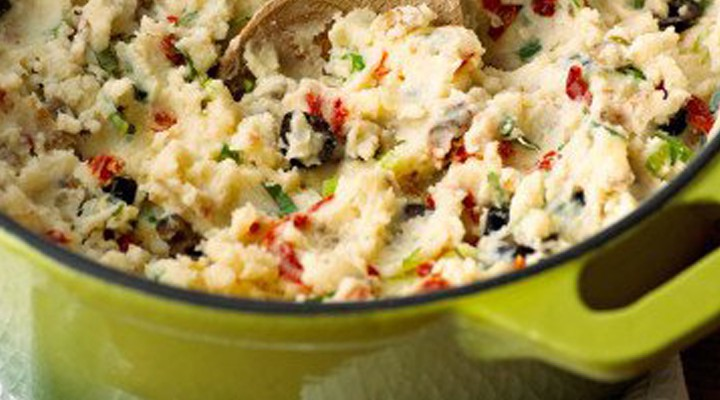 Mediterranean Mashed Potatoes